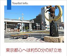 東京都心まで約50分の好立地