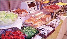 九州郷土料理も日替わりで。