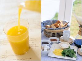 元気の出る朝食!! バランスの良い和洋ブッフェ