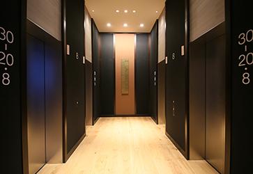 ルームキー連動型エレベーターのイメージ
